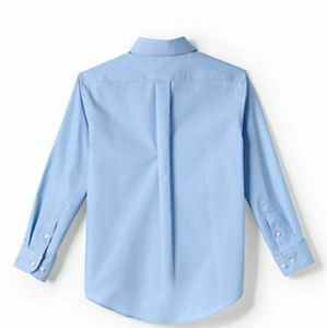 New🔥 Land's End boy's uniform shirt